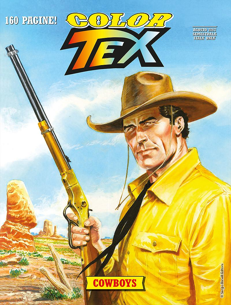 Cowboys - Tex Color 11 cover